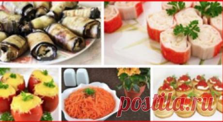 Топ-10 рецептов замечательных закусок Замечательная подборка к праздничному столу!