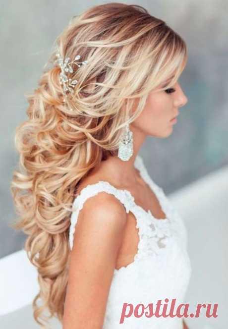 Свадебная прическа на длинные волосы в салоне красоты «Брандо» | Москва, Преображенская площадь, ВАО