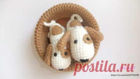 AmiguRoom: вяжем амигуруми: Собачки амигуруми