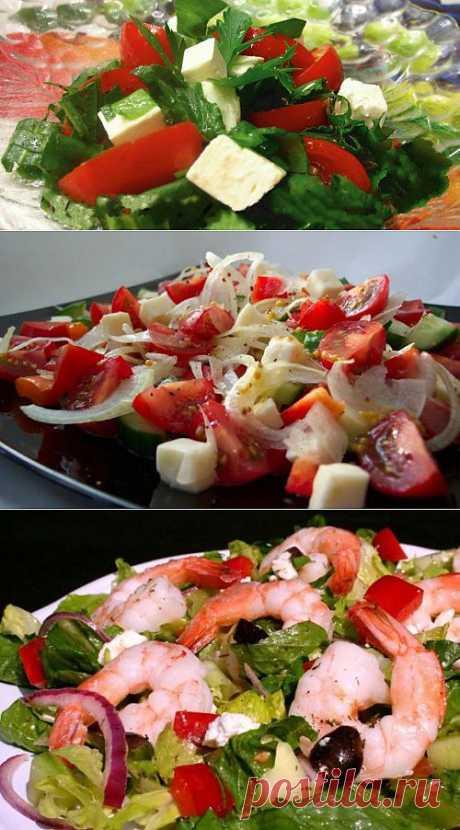 Простые салаты с брынзой: готовим вкусно и быстро! / Простые рецепты