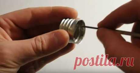 Как можно вкрутить лампу с тонким цоколем в обычный патрон - Сам себе мастер - медиаплатформа МирТесен
