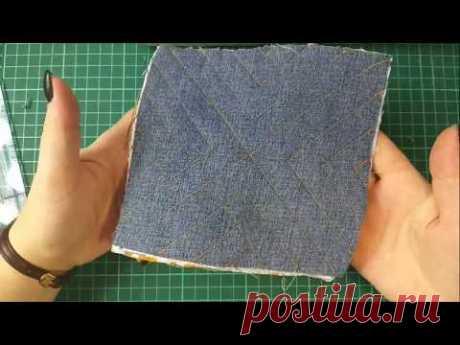 что можно сшить из джинсы. эксперимент 1.#diy#пэчворк#лоскутноешитье