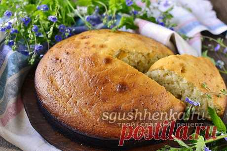 Бисквит на кефире без яиц, рецепт с фото легкий и пышный