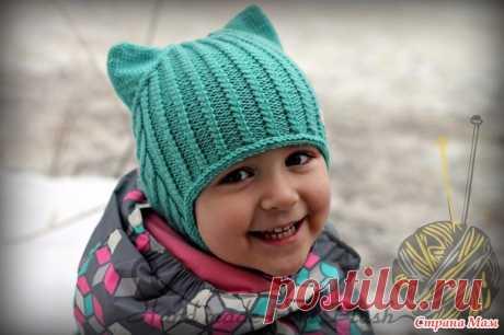 Ушастые шапочки и шапочка для папочки - Вязание - Страна Мам