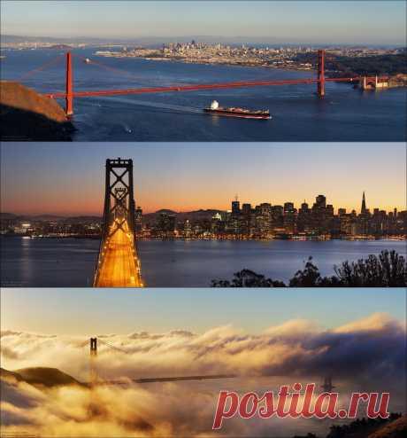 Сан-Франциско – панорамы города • НОВОСТИ В ФОТОГРАФИЯХ