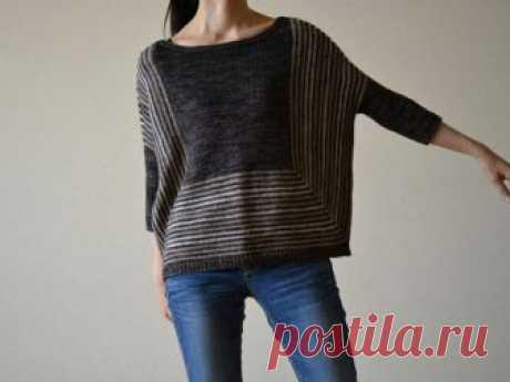Модный бесшовный свитер (diy) Модная одежда и дизайн интерьера своими руками