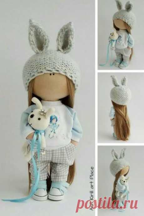 Textile Soft Doll Fabric Rag Doll Cloth Tilda Doll Baby | Etsy