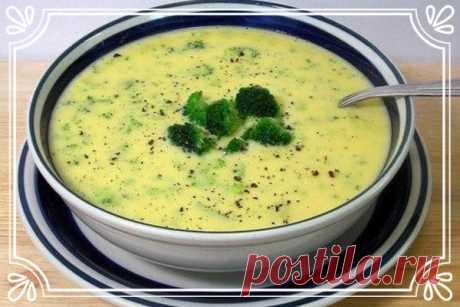 Низкокалорийный овощной суп с сыром (рецепт на скорую руку)   Суп на скорую руку, главное, чтобы в холодильнике оказались все нужные ингредиенты.   Ингредиенты:  Показать полностью…