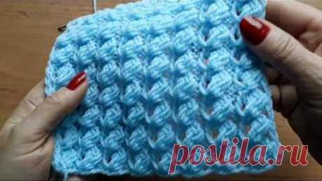Узор спицами для женского свитера, джемпера, туники