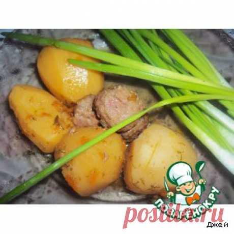 """Картофель в горшочках """"От бабули"""" – кулинарный рецепт"""