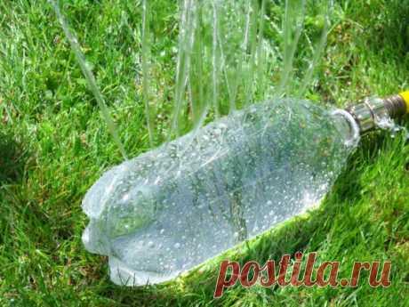 Как сделать оросительную систему из пластиковой бутылки за 6 шагов
