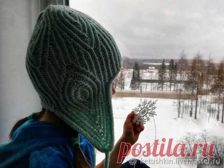Вяжем шапку для девочки | Журнал Ярмарки Мастеров
