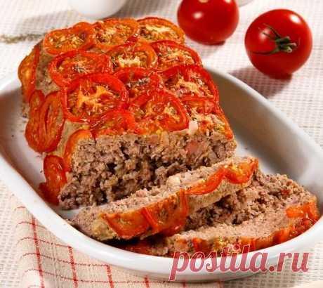 Мясной хлебец в овощной рубашке - летний вариант холодца