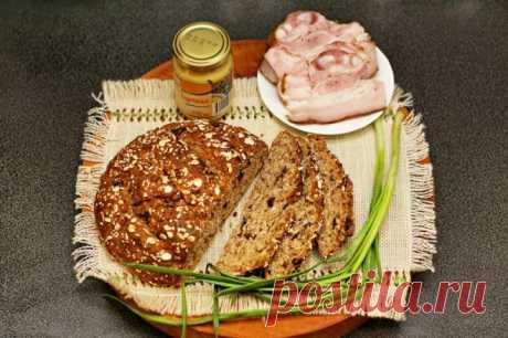 Домашний овсяный хлеб с ништяками » Топтуха: Авторские рецепты