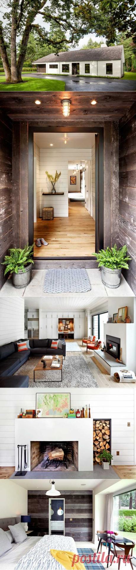 〚 Милый одноэтажный домик в Портленде 〛 ◾ Фото ◾Идеи◾ Дизайн