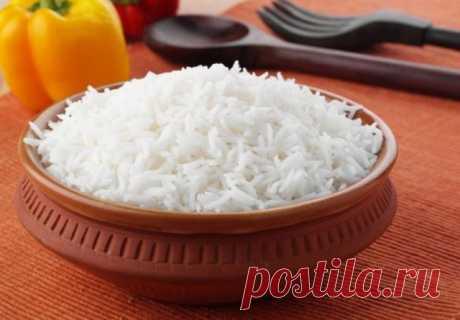 Секрет белого и рассыпчатого риса! — Полезные советы