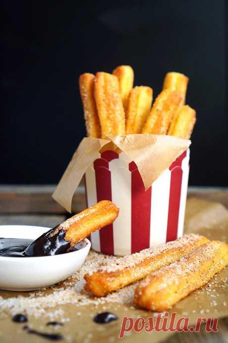 Чуррос - испанский десерт, который любит весь мир - Andy Chef - блог о еде и путешествиях, пошаговые рецепты, интернет-магазин для кондитеров