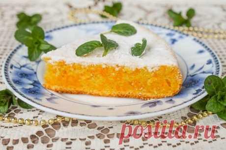 Морковный пирог — вкусно, экономно и полезно!