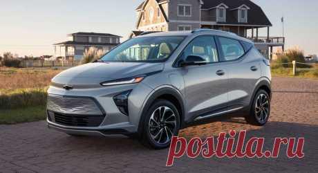 Обновленный Chevrolet Bolt EV и новый кроссовер Bolt EUV 2022