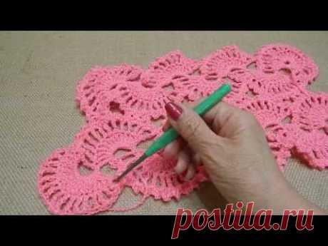 Вязание шали ленточным кружевом.(как соединять ленты между собой).