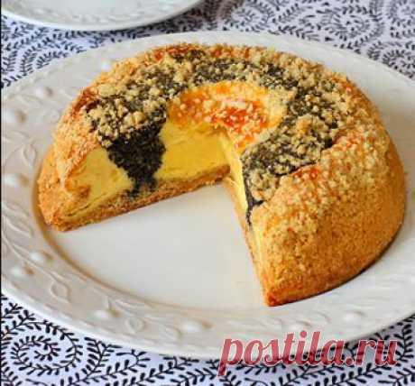 Творожный маковый пирог   Вкусняшки - вкусные рецепты с фотографиями. рецепты блюд.//wkusno.org/
