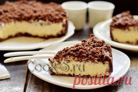 Торт Сметанник без духовки, без выпечки - рецепт с фото