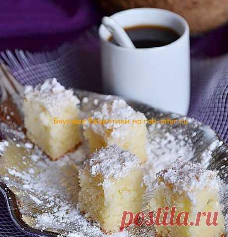 Кокосовый пирог | Вкусные Рецептики