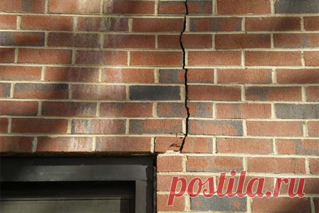 Как избавиться от трещин дома