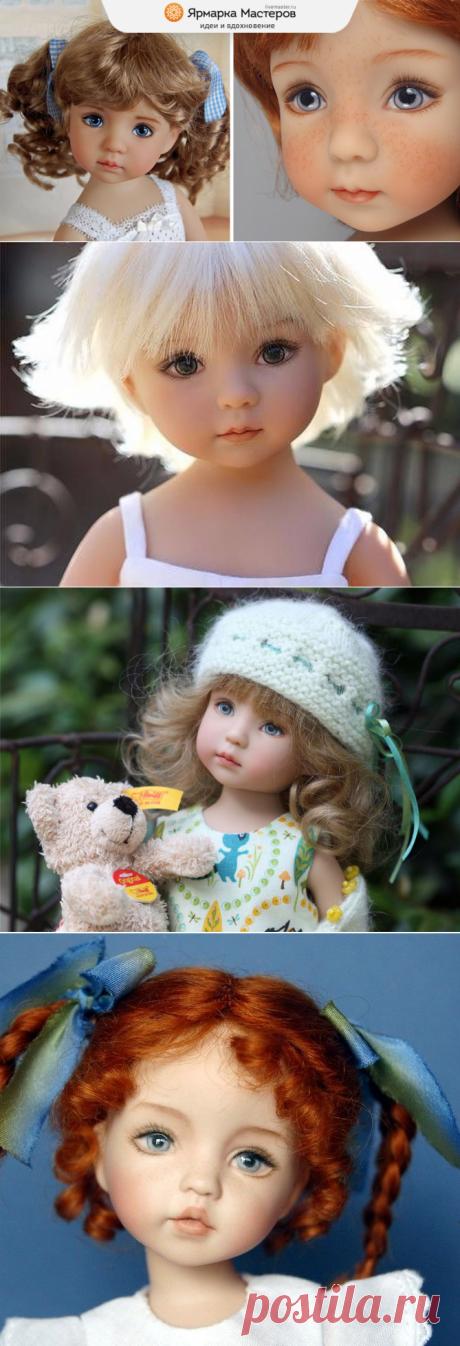Удивительно нежные куклы Дианы Эффнер (Dianna Effner) | Журнал Ярмарки Мастеров