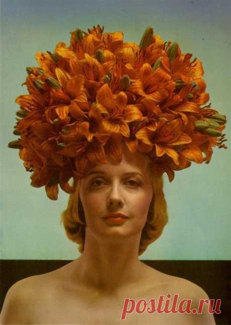 Эдвард Штайхен (1879-1973) Тяжелые лилии, 1936