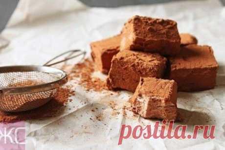 Домашний шоколадный зефир | Еда.ру | Яндекс Дзен