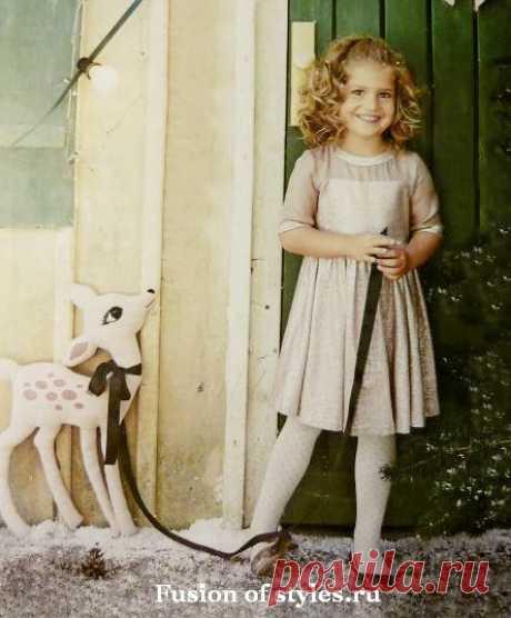 Нарядное платье для девочки | Всё о моде, стиле, шитье и рукоделии СЛИЯНИЕ СТИЛЕЙ
