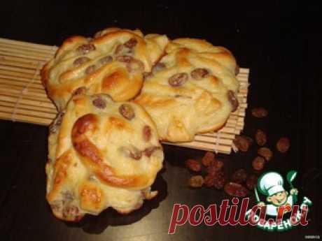 Sweet lazy rolls with a custard - the culinary recipe