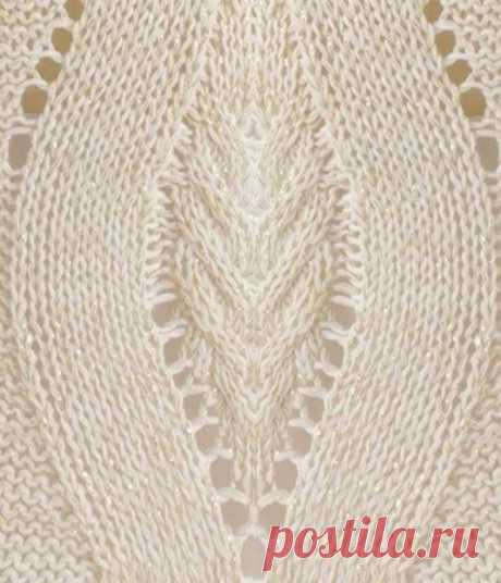 Туника с интересным узором (Вязание спицами) – Журнал Вдохновение Рукодельницы