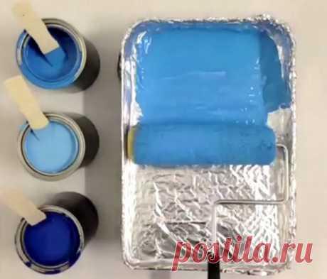 Как уберечь лоток от краски? — Полезные советы