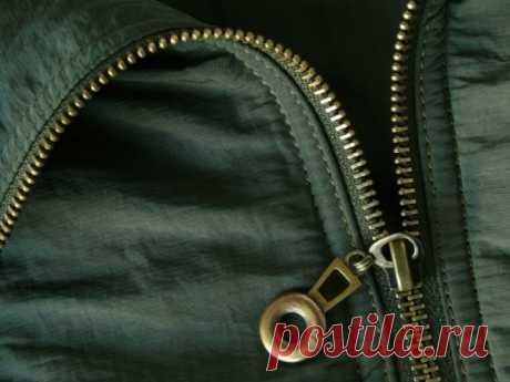 Замена молнии в куртках (Шитье и крой)
