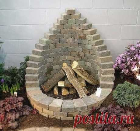 Garden ideas which are easy for embodying at themselves at the dacha \u000d\u000aAnd why I did not see it earlier?