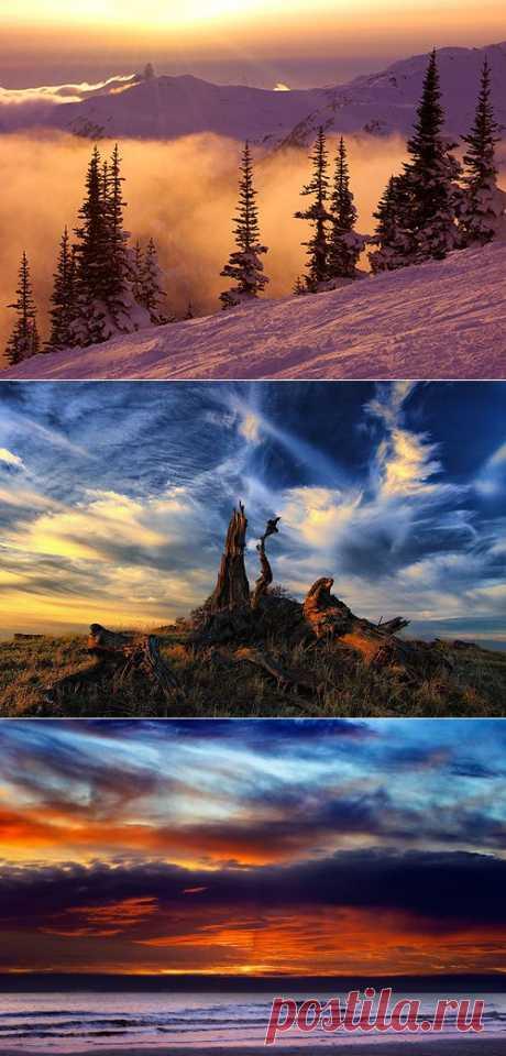 Закат солнца, красивые фотографии восхода и заката со всего мира