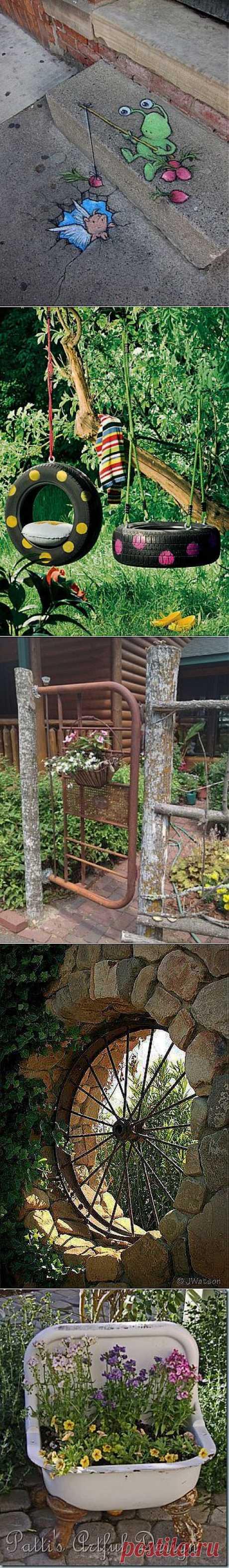 полезные и приятные мелочи в саду