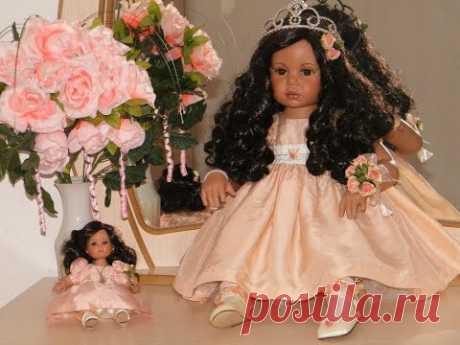 Моя коллекция фарфоровых кукол: Мари Осмонд, Дианы Эффнер и другие / Porcelain dolls. My collection