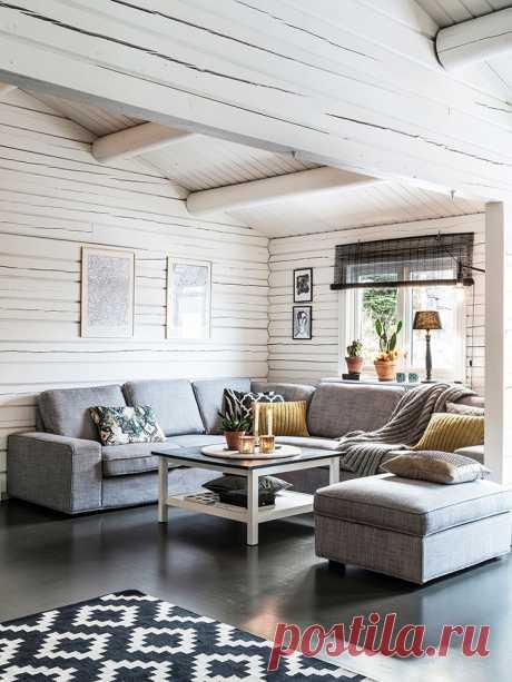 Уютный бревенчатый дом | Роскошь и уют