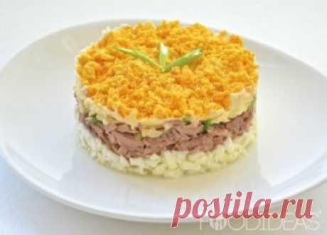 Рецепты - Салат с мясом в домашних условиях c фото