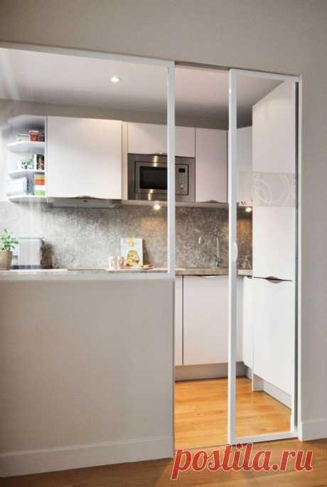 Дизайн маленькой кухни: 16 макси-идей и 100 фото [2019]