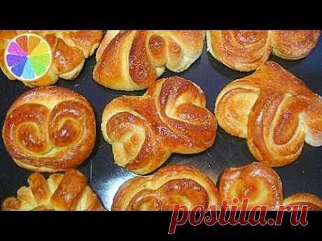 Как сделать красивые булочки : рецепты Булочки : тесто сдобное дрожжевое