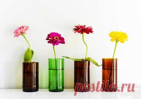 Вторая жизнь пластиковой бутылки. Красивые идеи для дома.
