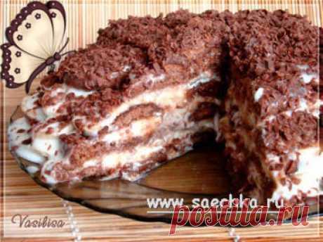 Торт без выпечки: