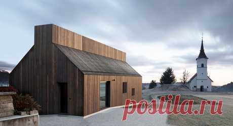 Частный дом с печью в Словении (Интернет-журнал ETODAY)