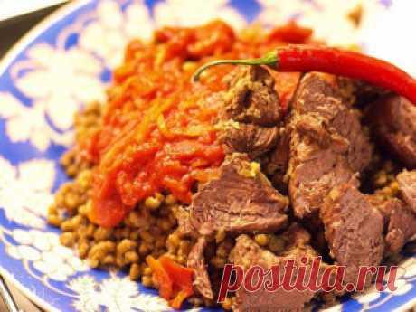 Машкучура – узбекское жаркое из маша под вкусным соусом | Милочка