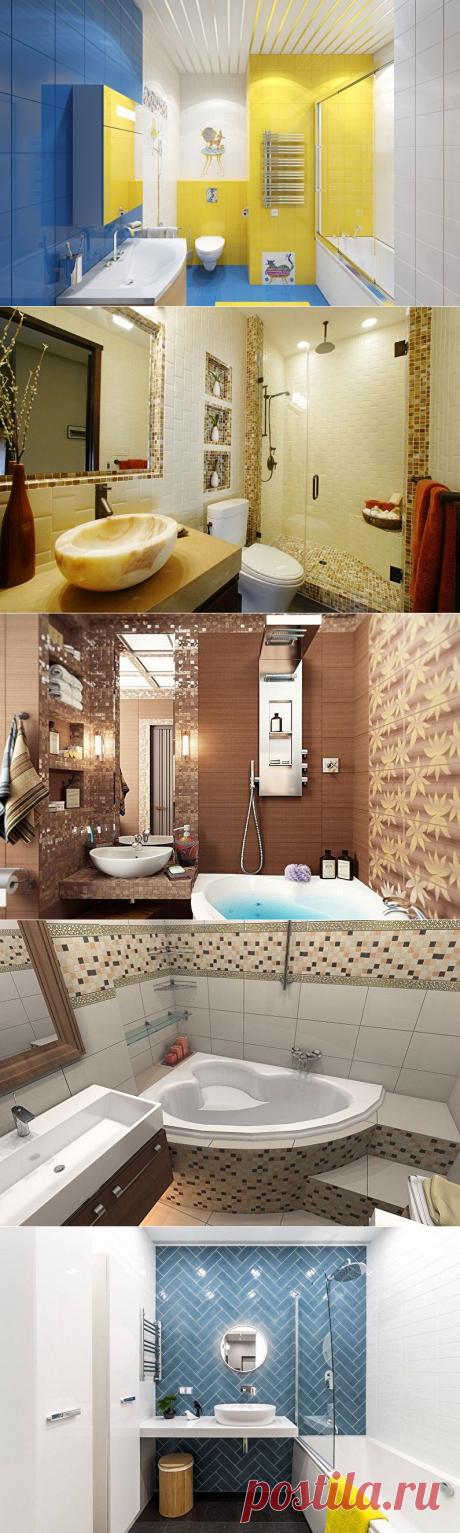 Дизайн ванной комнаты 5 кв.м. - 90 фото интерьеров, идеи для ремонта ванной