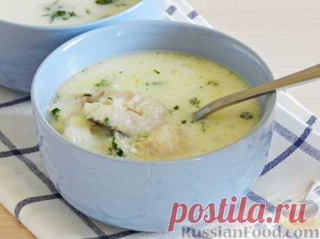 Рецепт: Латвийский молочный суп с рыбой